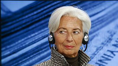 IMF: Lagarde's second term hit by declining global economy