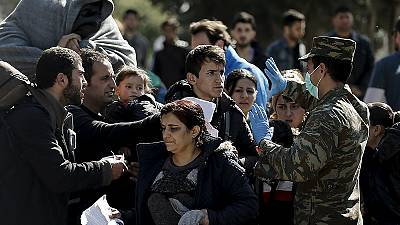 Migrants bussed back to Athens from border