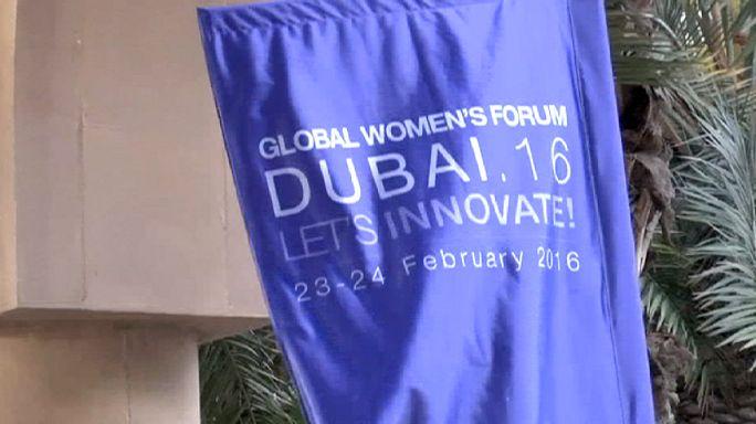 انطلاق المنتدى العالمي للمرأة في دبي