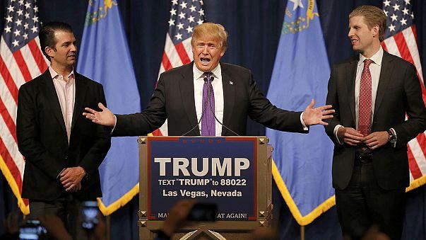 Donald Trump celebra su amplia victoria en los caucus de Nevada