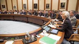 IMF chief Christine Lagarde forecasts tepid growth for world economy