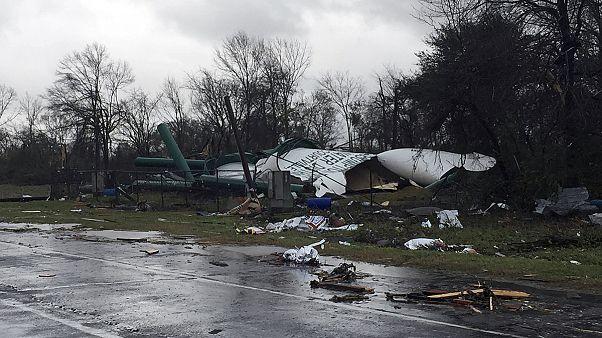 گردبادهای مرگبار در جنوب ایالات متحده آمریکا
