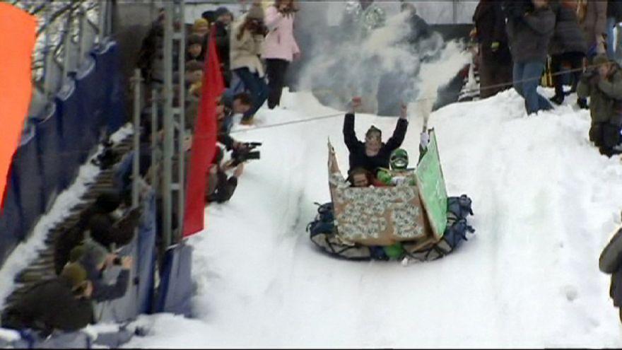 Corrida na neve