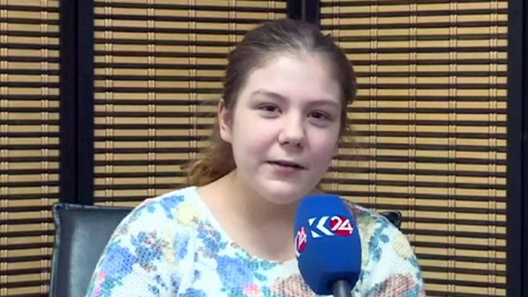 La adolescente sueca rescatada de manos del grupo Estado Islámico en Mosul asegura que fue a Irak por amor