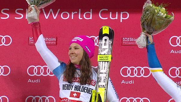 Hirscher gana en Estocolmo y se consolida como líder de la clasificación mundial de esquí alpino