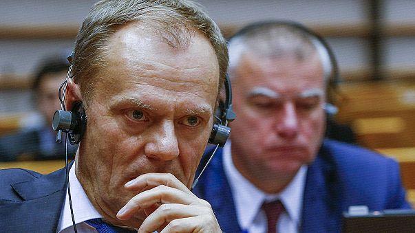 Tusk wirbt im Europaparlament für Briten-Deal