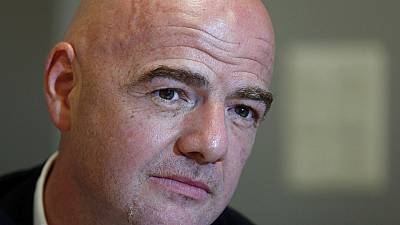Gianni Infantino in top gear for FIFA presidency slot
