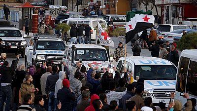 Syrie : un convoi de l'Onu accède aux zones assiégées