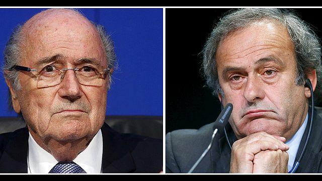 Platini ve Blatter'in men cezası 6 yıla düştü