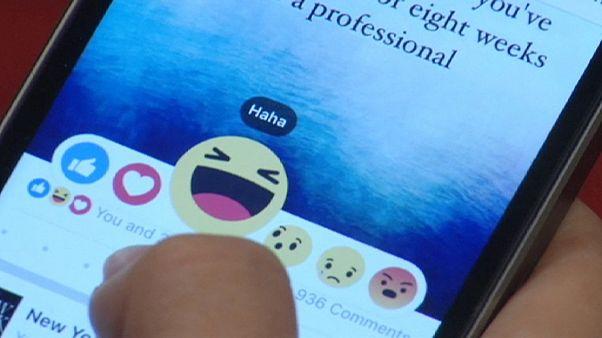 Facebook et l'effet 'wahou' ou 'grrr' de ses cinq nouvelles icônes