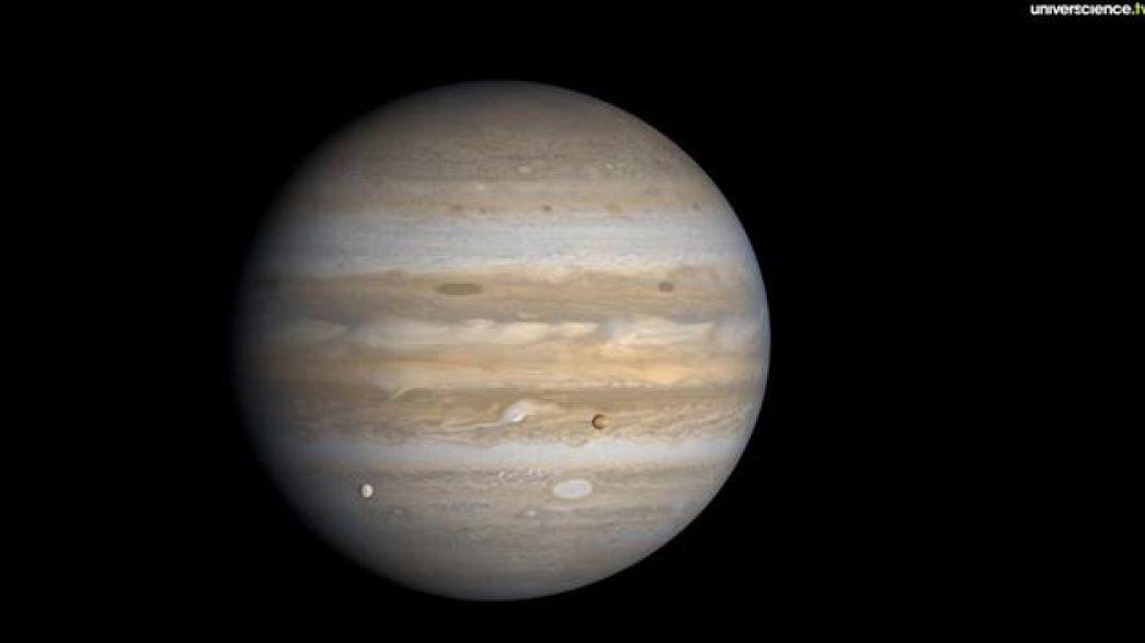 La Lune et Jupiter