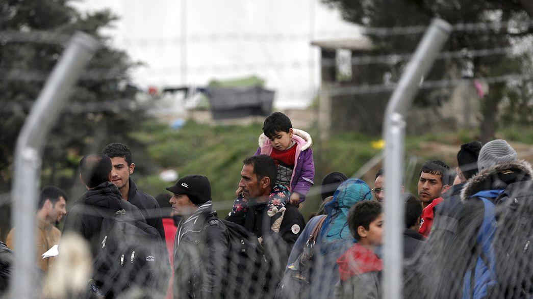 Flüchtlingskrise: Teilsperrung der Balkanroute führt zu Migrantenstau in Griechenland