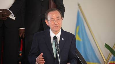 Ban Ki-moon concerned about DRC's tense political space