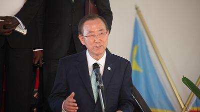 RDC : Ban Ki-moon exhorte la classe politique au dialogue
