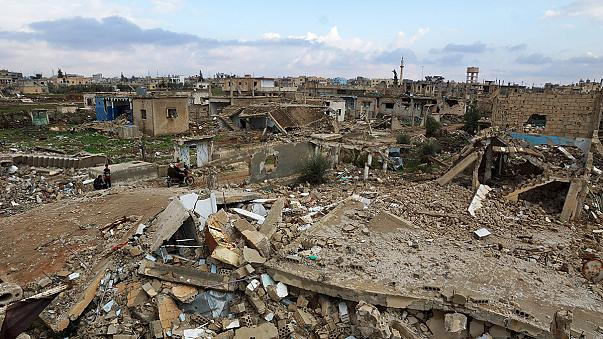 Duros combates en Damasco a dos días de que entre en vigor el alto el fuego