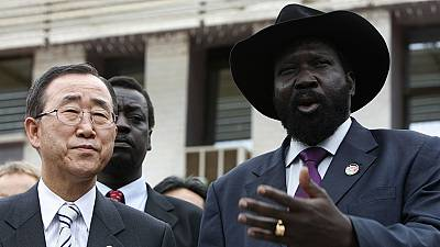 UN chief to meet with South Sudan president