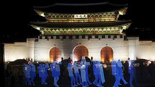 Hologramlı protestoyla seslerini duyurdular