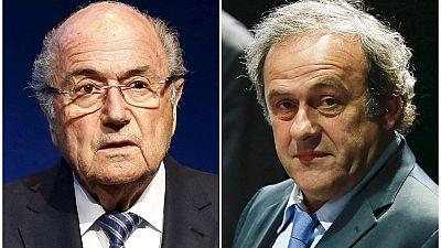 FIFA: suspensions réduites pour Blatter et Platini