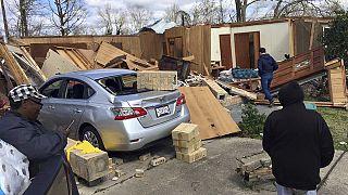 سقوط ضحايا ودمار واسع بسبب عواصف عدة ضربت الولايات المتحدة