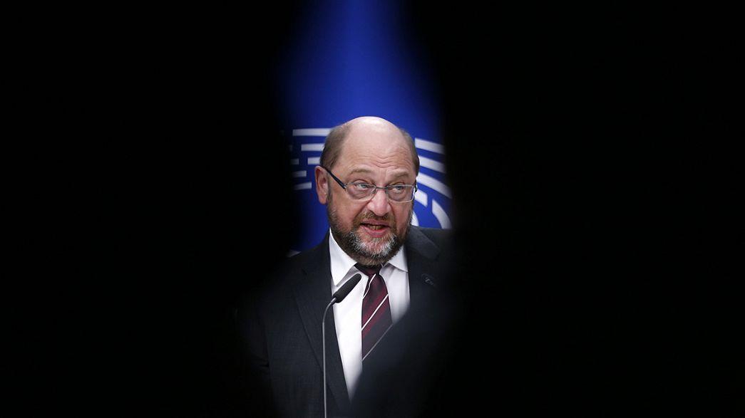 """Rifugiati, Schulz a Euronews:""""Il nazionalismo non potrà nulla davanti a una sfida globale"""""""