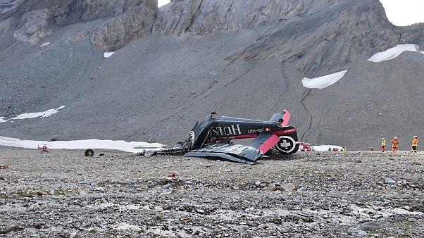 Image: Plane crash