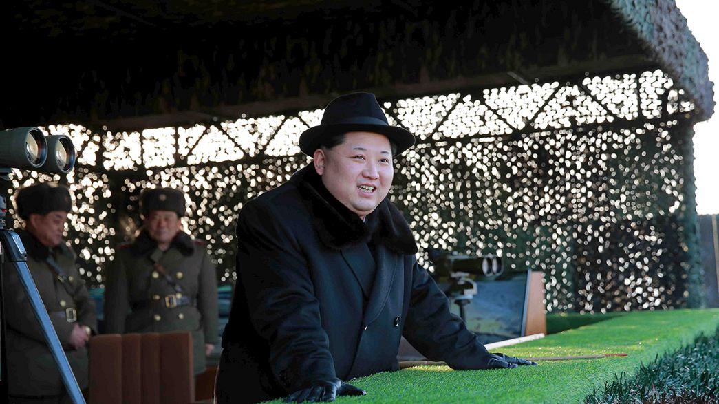 US presents draft UN resolution on North Korea