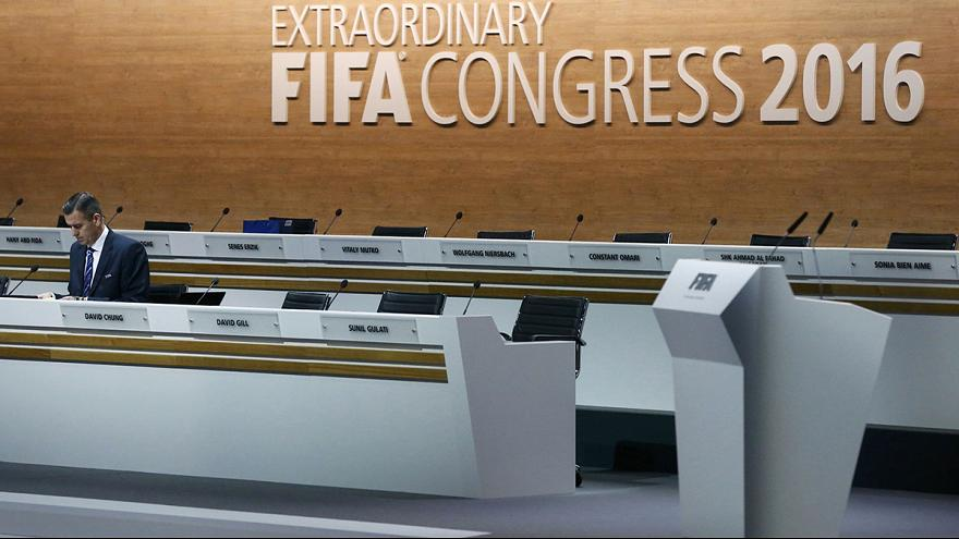 FIFA presidential election day begins with two nations banned from voting