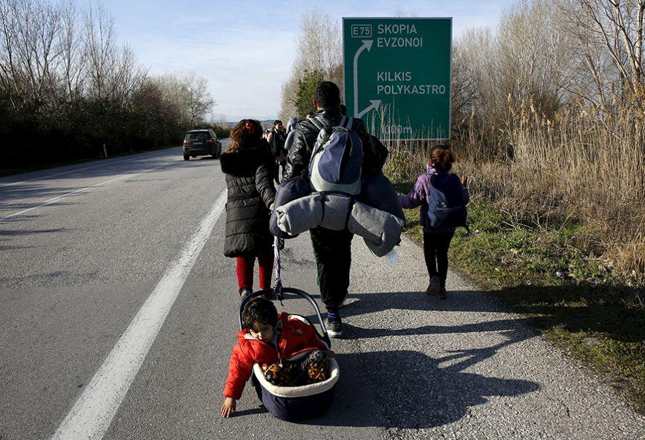 La route incertaine des migrants