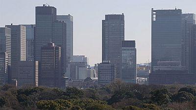 O poder de atração do centro financeiro de Tóquio