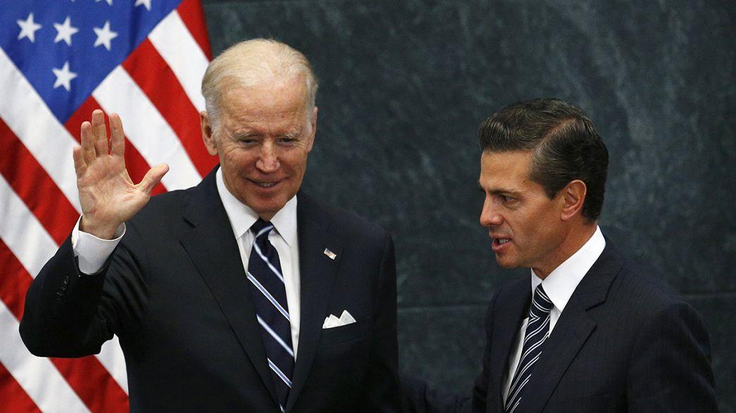 EUA: Biden pede desculpas ao México pelas declarações de Trump