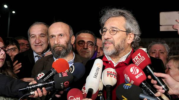 Turkey: freed journalists' rallying call for press freedom