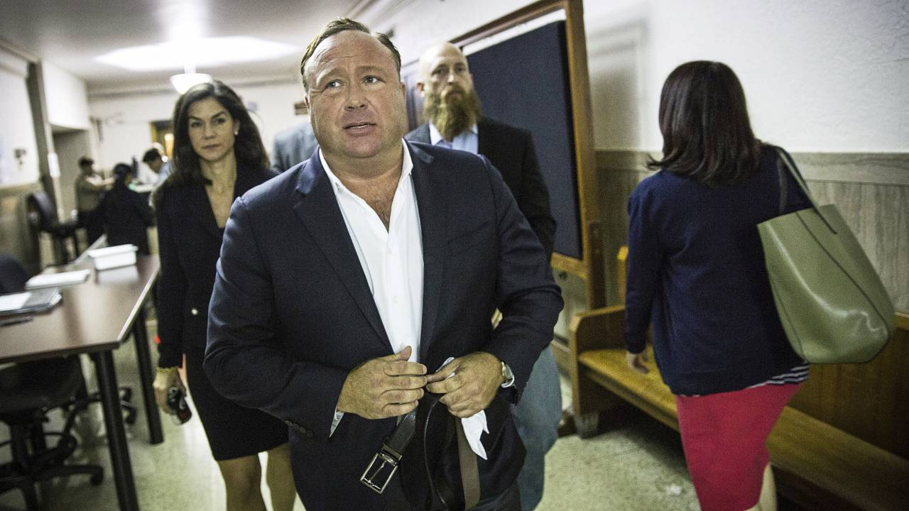 """Infowars"" host Alex Jones"
