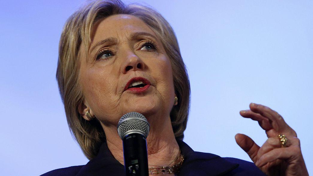 Los Clinton se preparan para Carolina del Sur y el Supermartes