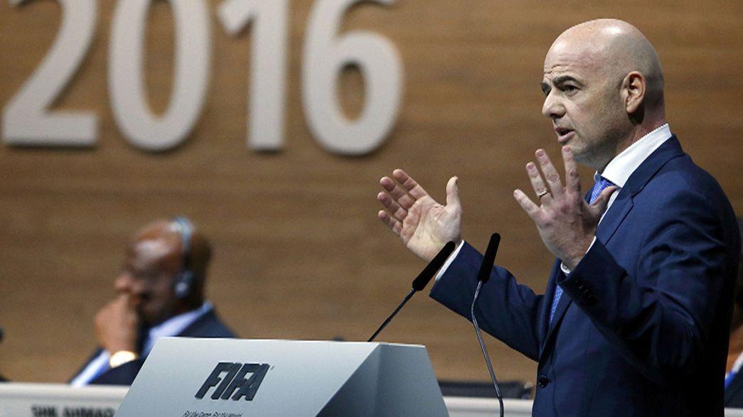 El suizo Gianni Infantino, elegido presidente de la FIFA con 115 votos