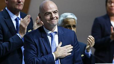 Infantino is FIFA President elect