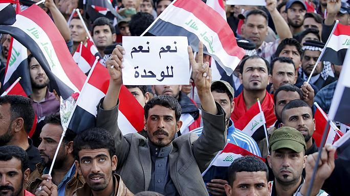 Over 100,000 gather in Baghdad to urge government to carry out reforms