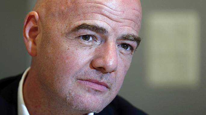 Gianni Infantino - the President of FIFA