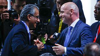 FIFA : Infantino félicité par ses adversaires