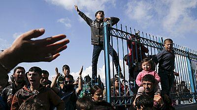 Grecia, colapsada ante decenas de miles de refugiados atrapados tras el cierre de la frontera macedonia