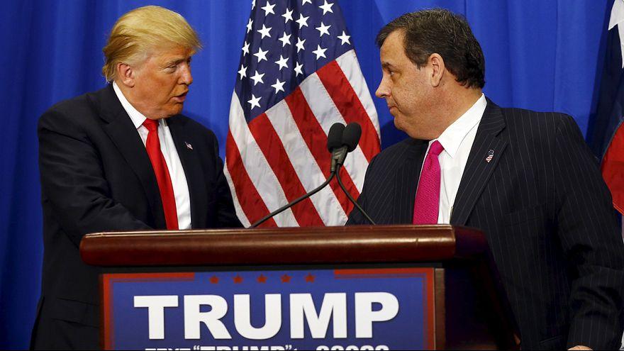 Trump recibe el apoyo del gobernador de Nueva Jersey en su campaña electoral