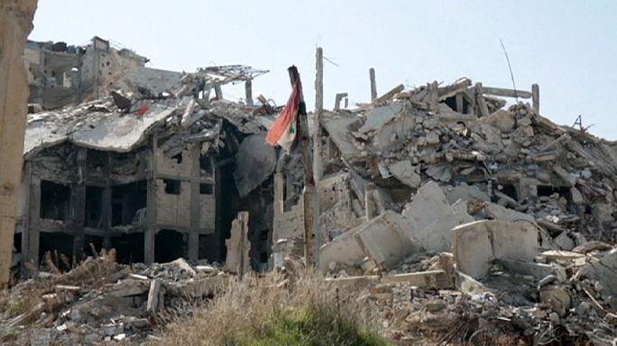 Сирия: разрушенный Хомс в ожидании мира