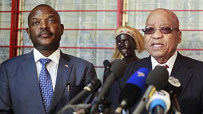 African leaders in crucial talks with Burundi president and opposition to unlock crisis