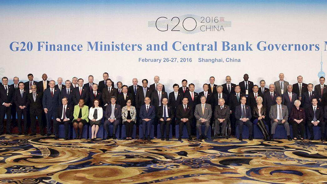 """Как оживить мировую экономику? Встреча """"финансовой G-20"""" в Шанхае"""