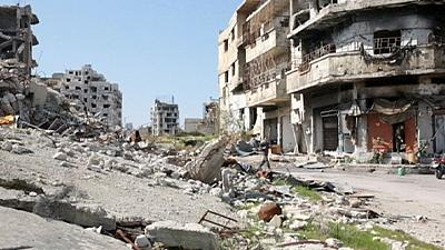 La frágil tregua permite a los sirios salir a la calle