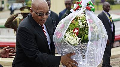 Zuma leaves Burundi following jet's mechanical glitch