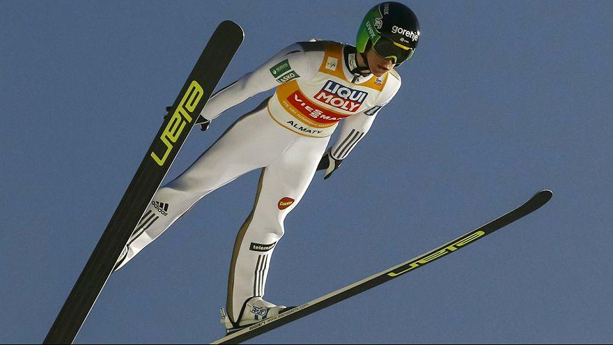 Salto sci, CdM: Prevc torna a vincere, Hayböck di nuovo sul podio