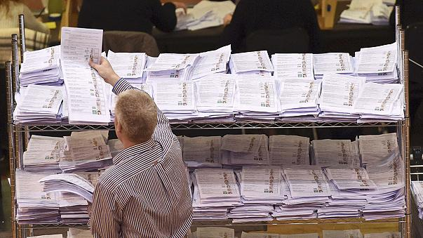 Exit polls suggest Irish Republic is on course for a hung parliament