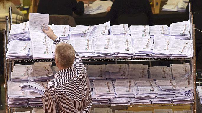 الانتخابات التشريعية في أيرلندا بدون أغلبية برلمانية واضحة