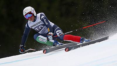 Esqui: Federica Brignone primeira em Andorra (Super G)