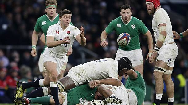 England defeat Ireland in Six Nations to top the table